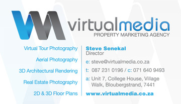Business Card Design for Virtual Media