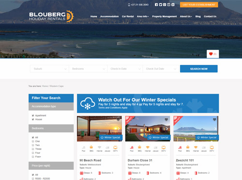 CRM System for Holiday Accommodation Company